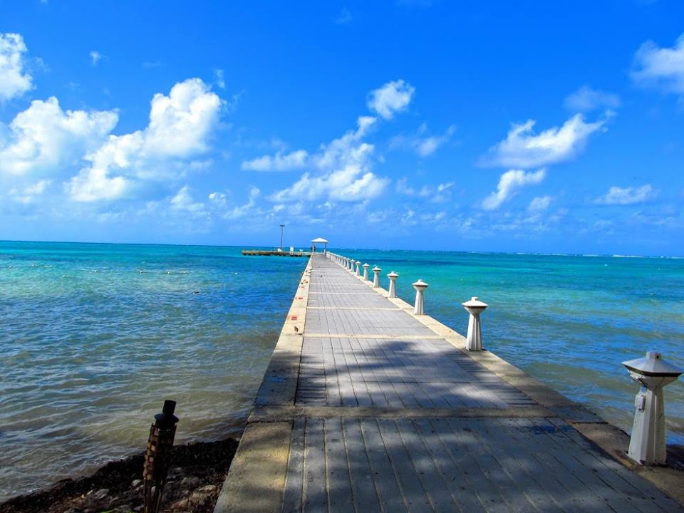 Pier at The Wyndham Reef Resort Grand Cayman Island