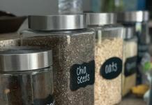amazon favorites chalkboard stickers on glass jars