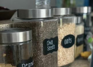 amazon favorites chalkboard stickers on glass jars