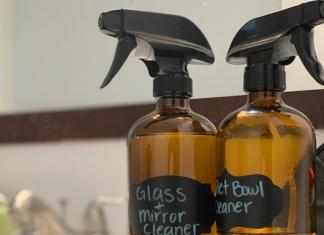 reduce your waste with diy cleaning products
