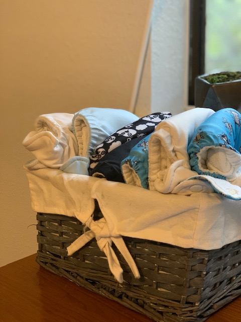 reduce your waste with cloth diapers