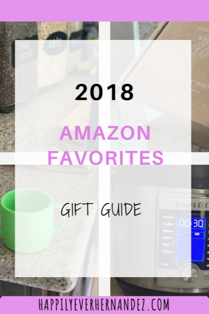 Amazon Favorites Gift Guide Chalkboard stickers, instant pot, toddler cup, and puracy body wash