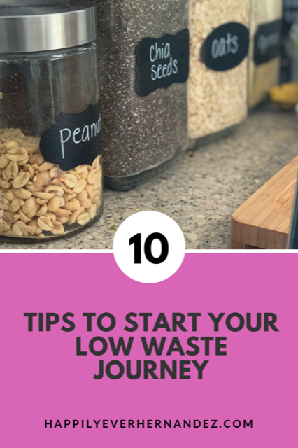 ten ways to start your low waste journey
