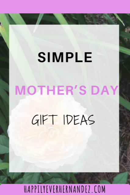 simple mothers day gifts pin