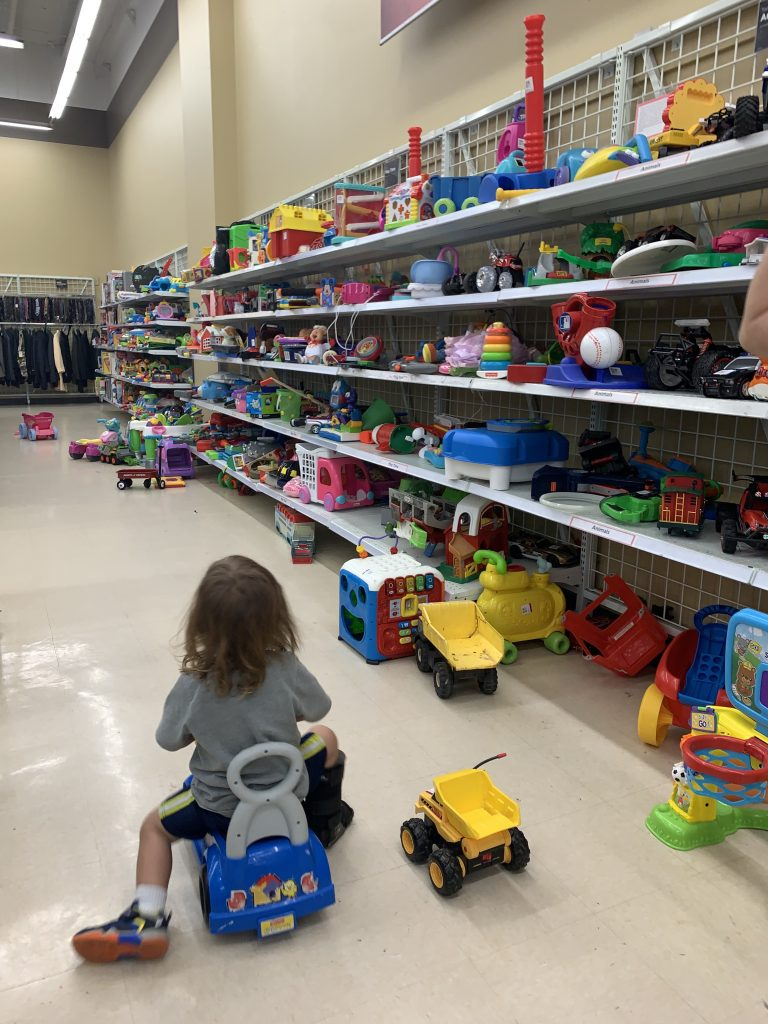 things to do in Austin with toddlers savers toys