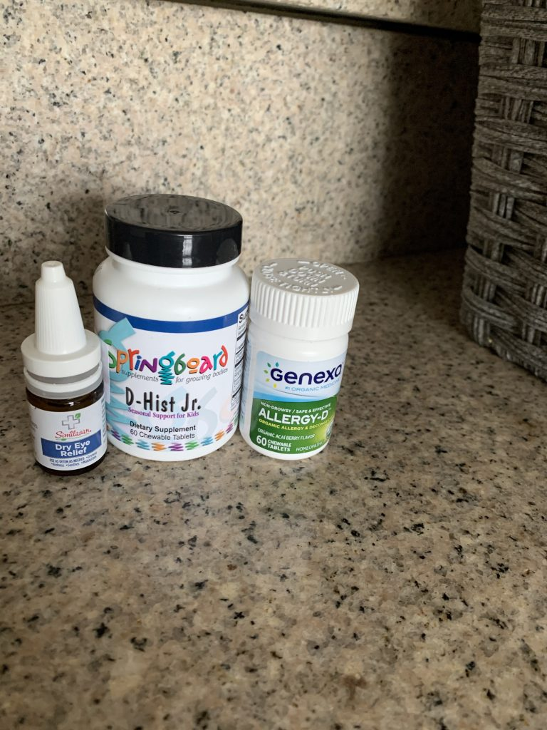 natural remedies allergy