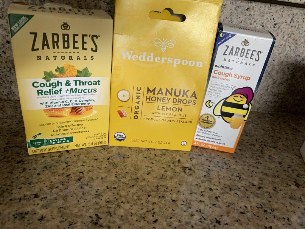 natural remedies cough