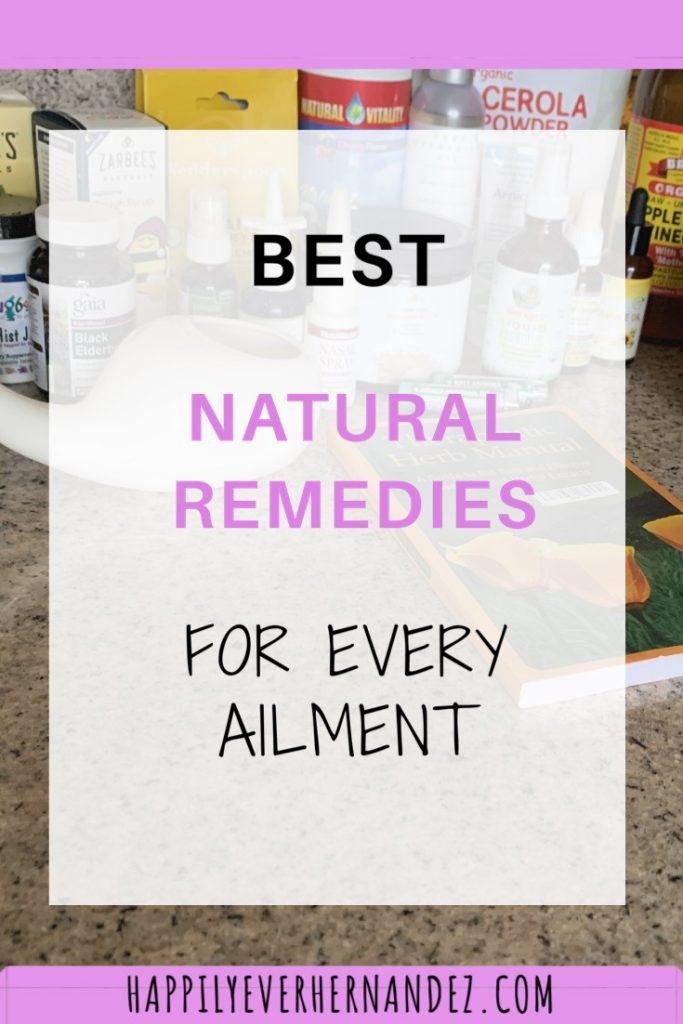 best natural remedies