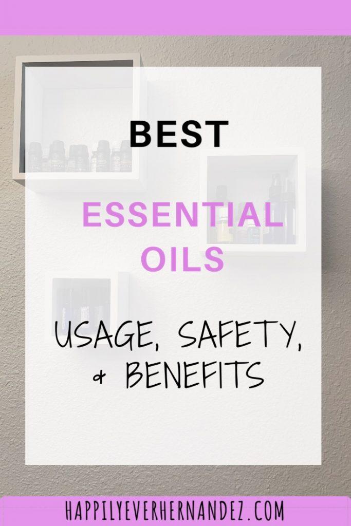 best essential oil usage