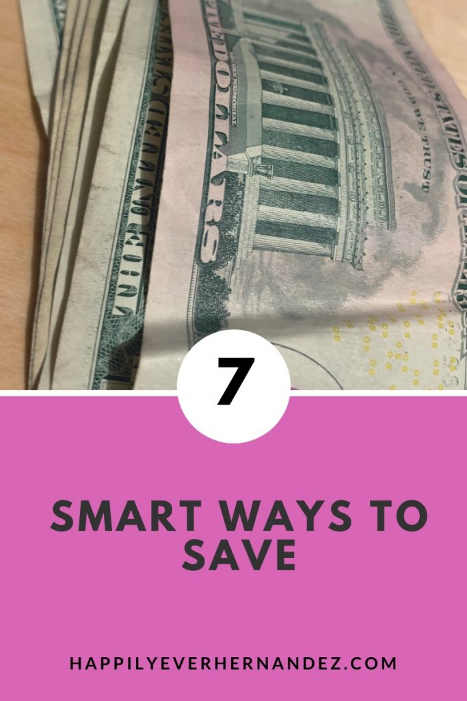 seven smart ways to save
